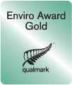Qualmark Enviro Award Gold badge