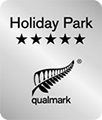 Qualmark 5 Star Holiday Park badge